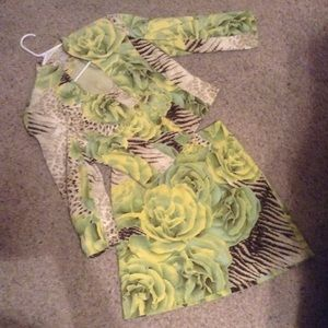 Alberto Makali Skirt Suit size 4